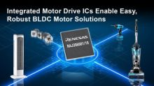 Renesas Simplifies Safe and Power-Efficient Sensor-Less Brushless DC Motor Control Design for Industrial and Home Appliances