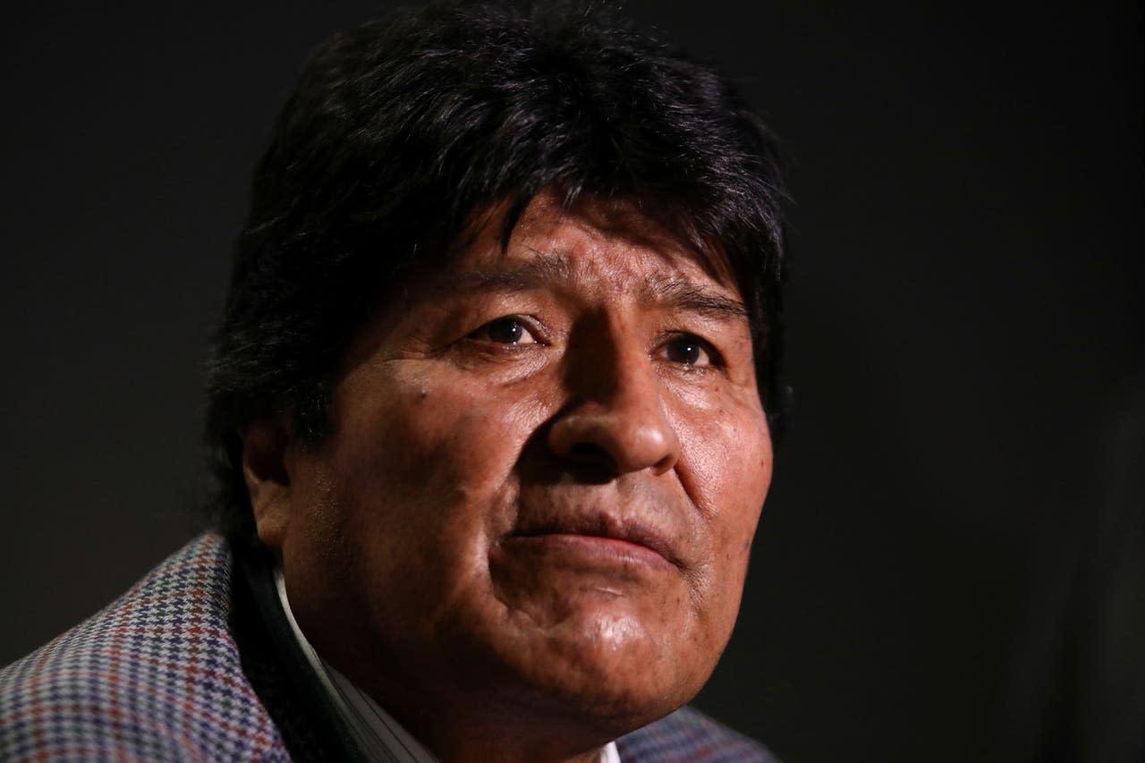 """Evo Morales llama una reunión nacional y habla de """"genocidio"""" en Bolivia - Yahoo Noticias"""