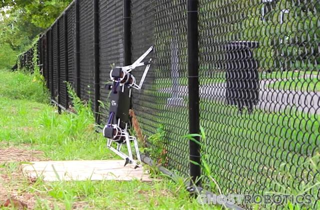 Fence-climbing robot could be priced within your reach