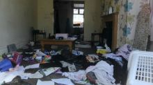Rental family wreck home in leaving party