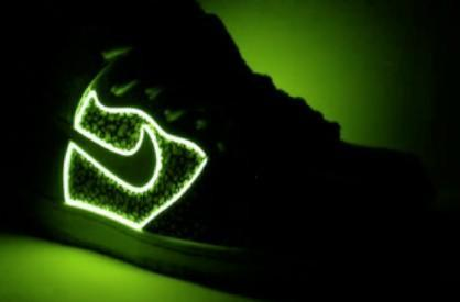 Custom Illuminated Confusion Nikes light up the streets, your life