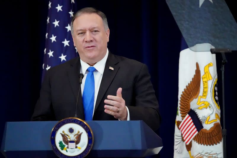 U.S. denounces Iran rights abuses, imposes sanctions on judges
