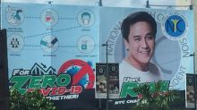 Youth Commission chair apologizes for huge face on COVID awareness billboard
