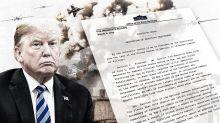 Trump revokes Obama order on reporting civilian deaths in drone strikes