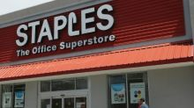 Staples shares surge after report of takeover talks