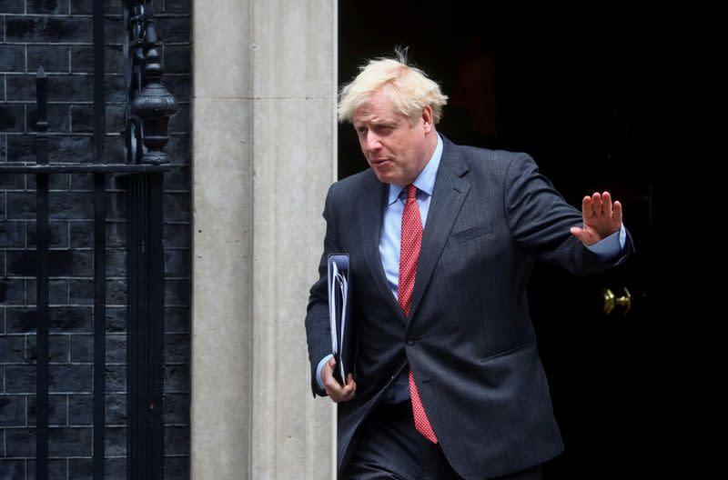 UK's Johnson raises concerns with Turkey's Erdogan over east Med tensions