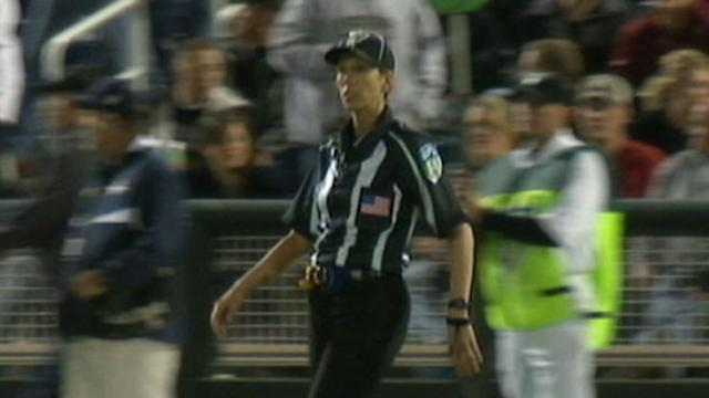 Woman on Track to Become First Female NFL Ref