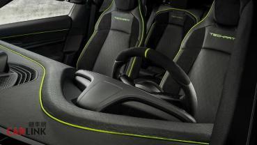 「精裝」也是「金裝」!Porsche Taycan「Techart升級版內裝」曝光