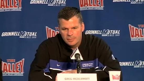 Raw video: Coach Greg McDermott