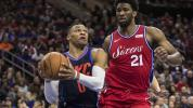 Westbrook, Embiid put on show in 3OT thriller