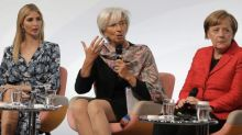 Lagarde: 'Women are not a threat'