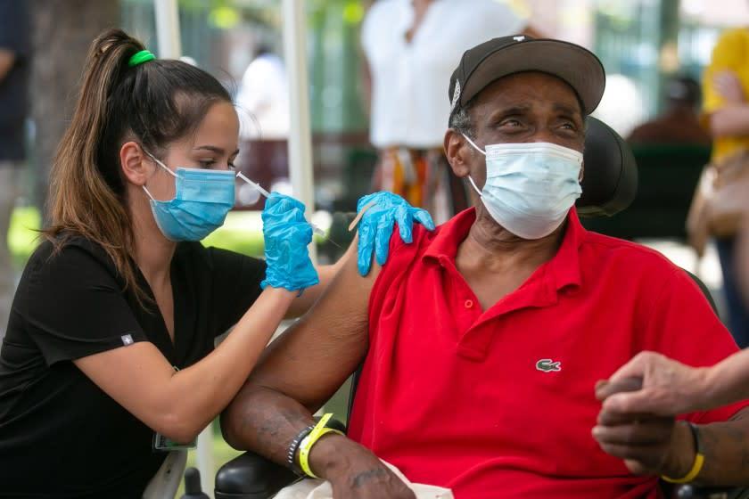 Vaccine alters California's coronavirus path: Urban areas improve, rural parts suffer