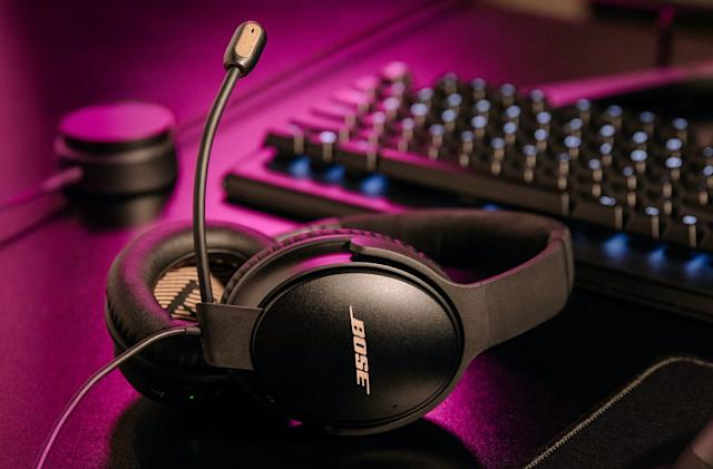 Bose turns its beloved QC 35 II headphones into a gaming headset