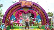 "Have a colourful time with ""Trolls"" at TrollsTopia!"