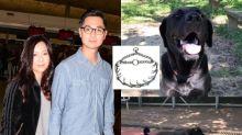被指綁倒鈎鐵鏈虐犬 鄭俊弘撰文澄清:訓練大狗的普通工具