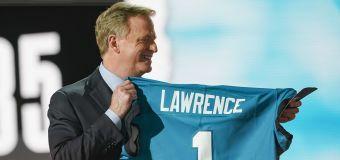 Trevor Lawrence goes at No.1 pick in NFL draft