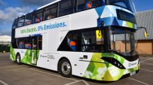 Stagecoach in Cambridge is first in UK regions to launch BYD ADL Enviro400EV electric double deckers