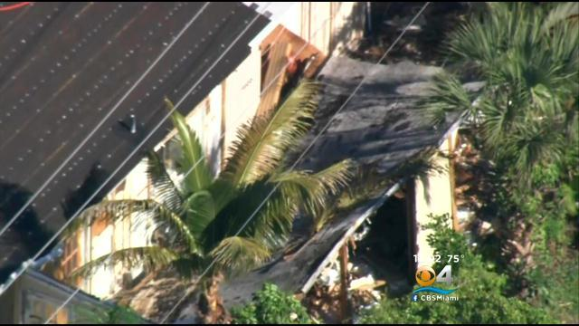 Man Injured In Plantation Roof Collapse