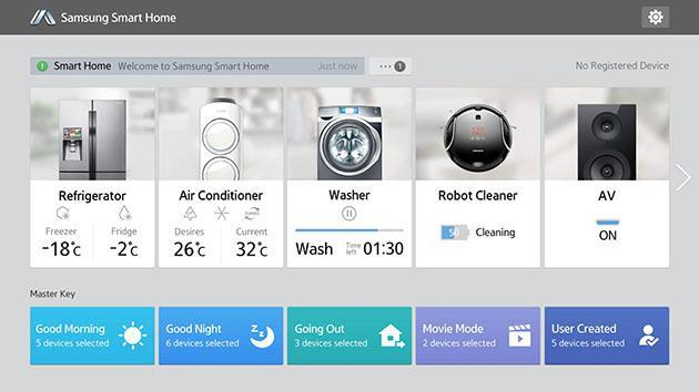 Samsung's Smart Home service ready to control new wave of TVs and appliances