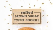 Cookie of the Day: Salted Brown Sugar Toffee Cookies