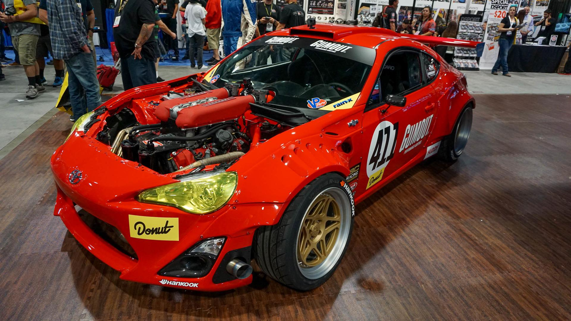 Widebody Subaru BRZ With LS3 V8 Engine Is Over The Top Tuning