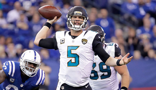 NFL: Bortles bekommt Option - Watkins nicht