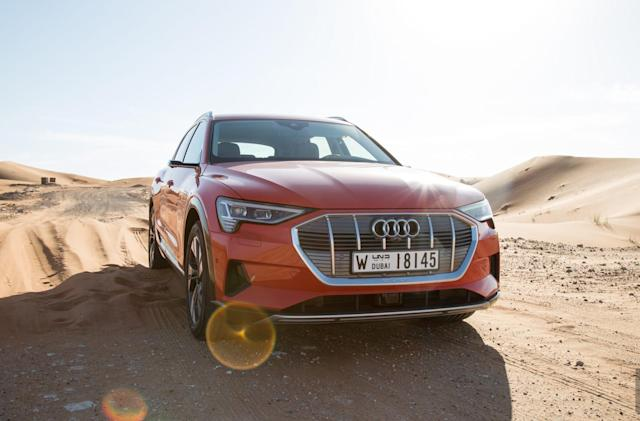 Audi's E-Tron blends luxury with cutting-edge tech