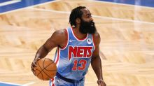 James Harden posts 32-point triple double in Nets debut
