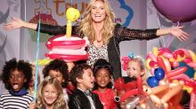 Heidi Klum Misses the Cut on Stroller Design