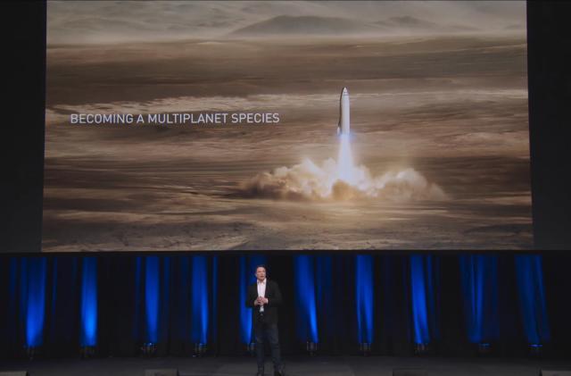 Elon Musk's Mars dream hinges on a giant new rocket