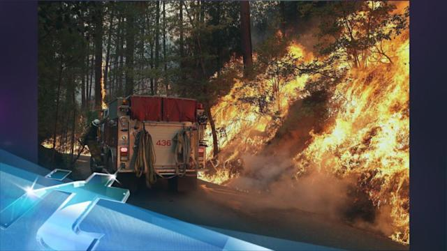 Yosemite Fire 'poses Every Challenge There Can Be'