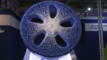 Michelin unveils airless, 3D printed concept tire