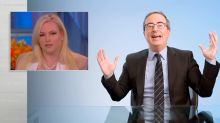 John Oliver rips Meghan McCain for hypocrisy of 'Stop Asian Hate' tweet
