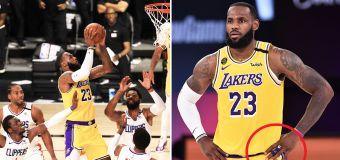 LeBron's touching tribute to Kobe in NBA restart