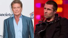 David Hasselhoff scolds Liam Gallagher over his fights with Noel and says 'why include me?'