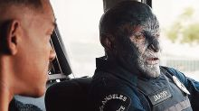It's not easy to look orc good: You won't believe how long 'Bright' star Joel Edgerton endured in makeup