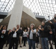 Louvre museum pays tribute to pyramid's architect Pei