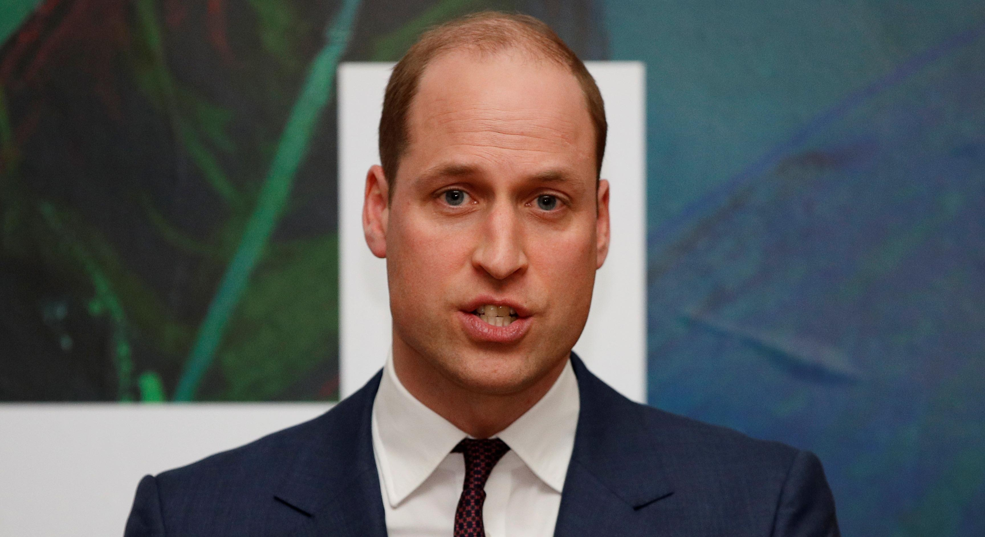 Prince William encouraged the Archbishop of Canterbury to seek help for depression
