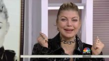Fergie breaks down in tears after getting some unexpected album news