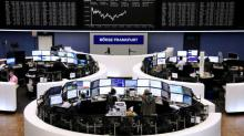 Wall St. ends down while oil tumbles on demand worries