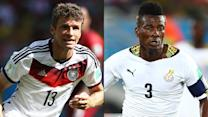 How Germany vs. Ghana affects the United States' chances