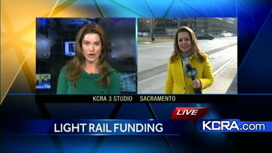 Light-rail project gets boost from Transportation Secretary LaHood