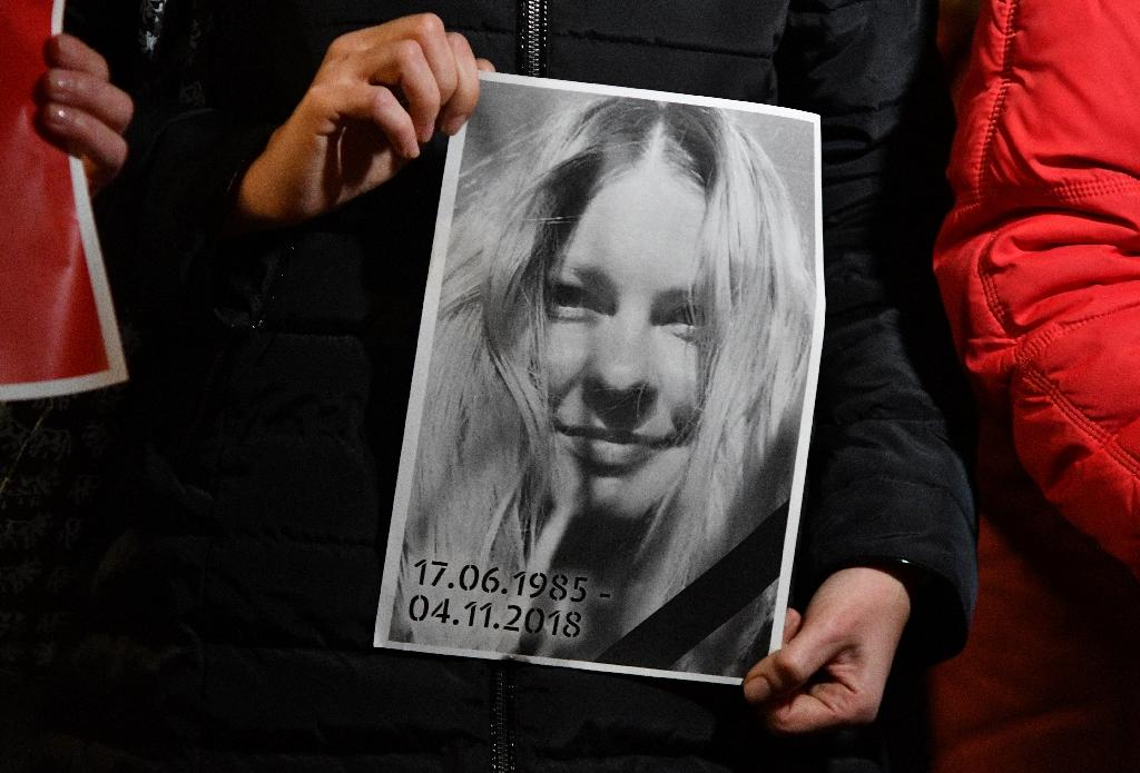 Ukrainian anti-corruption activist Kateryna Gandzyuk died last November from injuries sustained during an acid attack in the summer