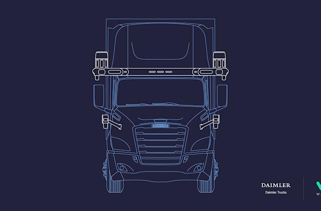 Waymo and Daimler team up to develop self-driving trucks