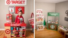 Mum wows with 'amazing' mini-Target shop she made for daughter