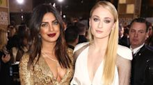 Priyanka Chopra and Sophie Turner Are Literally Wearing Their Post-Bachelorette Party Hangovers