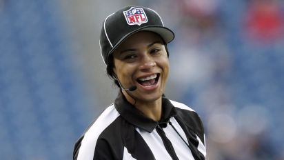 This Black female referee just made NFL history