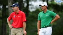 Furyk Shares Lead, Stenson Surges With A 64