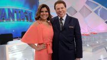 Silvio Santos ameaça demitir quem 'mexer' com Mara Maravilha