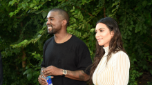 Kanye West's First IG Post in 9 Months Is Valentine's Day Message for Kim Kardashian